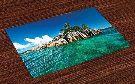 Soefipok Esterillas de Isla, Isla St. Pierre en Seychelles ...