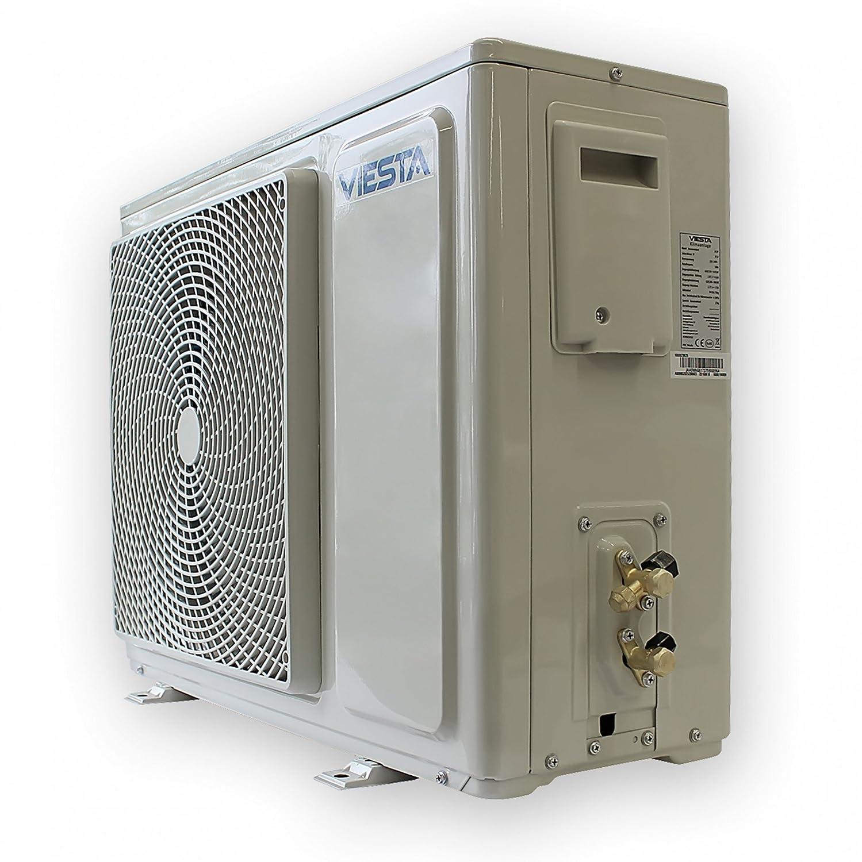 Viesta dispositivos de Aire acondicionado split - Eficiencia energética - Temporizador - Función deshumidificador - Silencioso (42~48dB) - hasta 24000 BTU ...