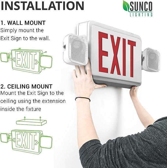 Amazon.com: UL Listed - LED simple o doble cara, cartel ...