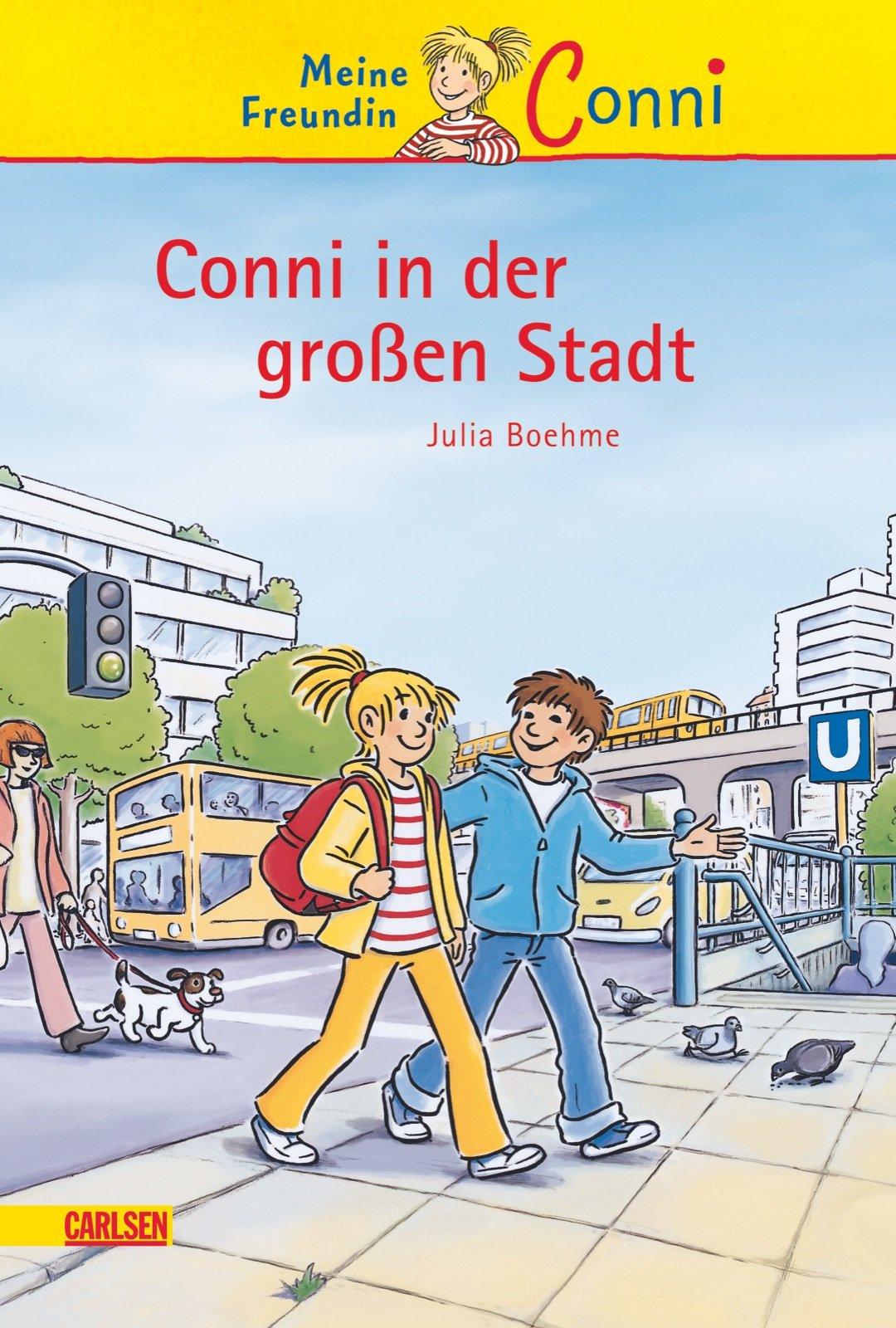 Conni-Erzählbände 12: Conni in der großen Stadt