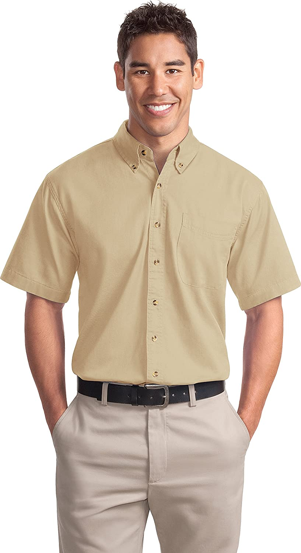 Port Authority S500T Short Sleeve Twill Shirt