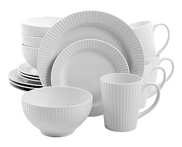 Amazon.com | Gibson Home 16 Piece Josephine Cafe Dinnerware Set ...