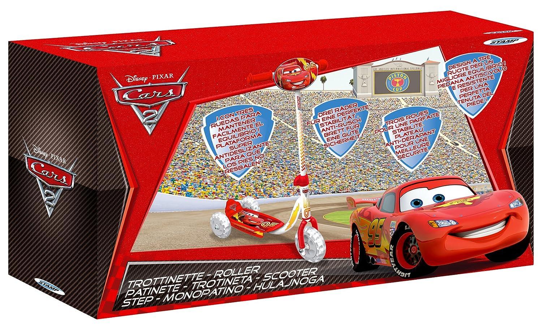 Disney J100045 Cars 2 - Patinete de 3 Ruedas, Color Rojo ...