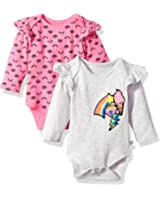 Rosie Pope Baby Girls 2 Pack Bodysuits