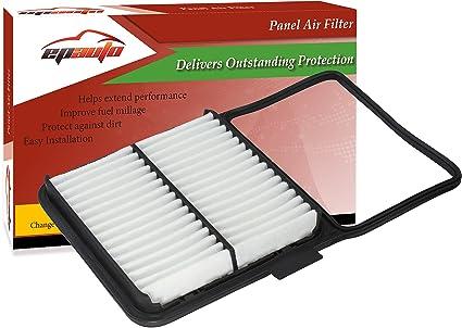 epauto gp159 (ca10159) toyota replacement extra guard rigid panel engine  air filter for prius