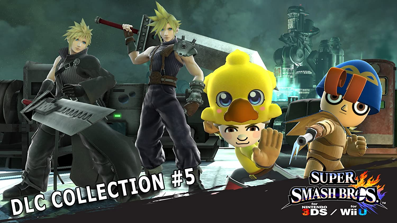 Amazon Com Super Smash Bros Dlc Collection 5 Wii U Digital Code Video Games