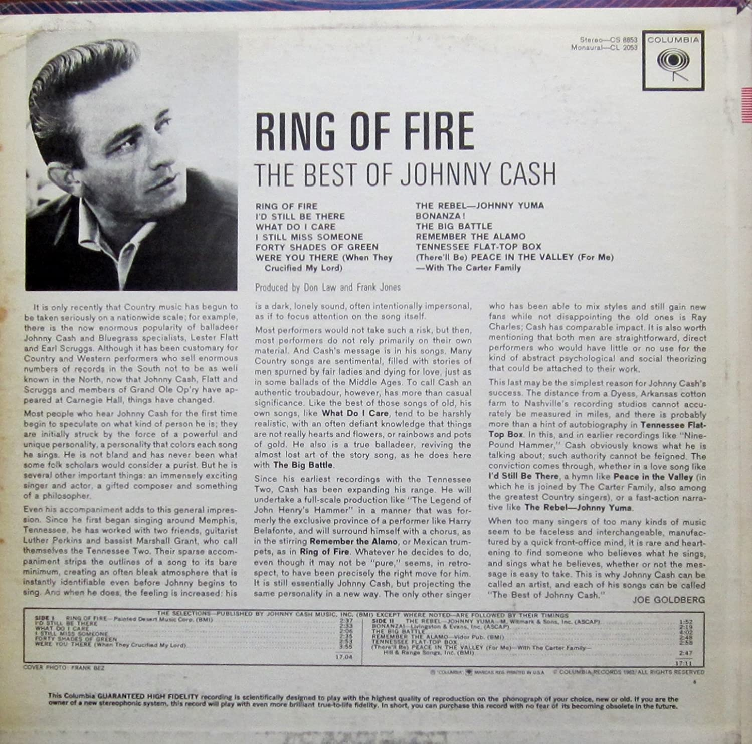Ring of fire-The best of (US) / Vinyl record [Vinyl-LP ...
