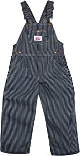 product image for Round House Little Boys Stripe Bib Overall (Blue 5)