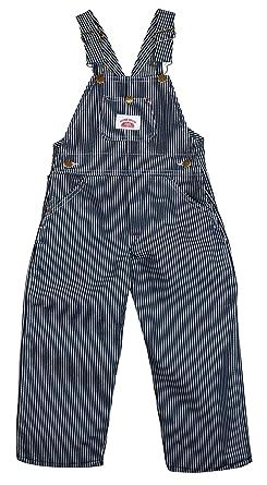 Amazon.com  Round House Little Boys Stripe Bib Overall  Clothing 3c2108e2137e