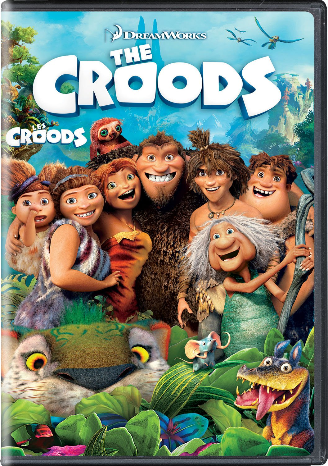 The Croods (Bilingual) Nicholas Cage Kirk De Micco Kids & Family Adventure