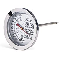 CDN ProAccurate Extra Large Dial Meat & Poultry Thermometer, 1 EA