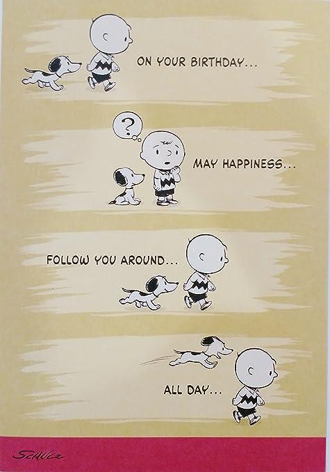 Peanuts Good Ol Charlie Brown Snoopy Biglietto Di Auguri Di