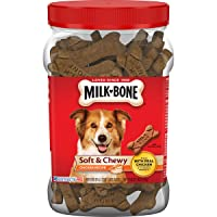 Milk-Bone Soft & Chewy Dog Treats with 12 Vitamins and Minerals