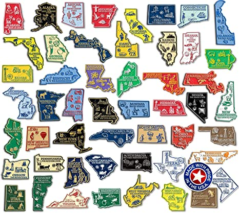 Complete State Map Magnet Collection on map accessories, map books, map pamphlets, map buttons, map pencils, map room decor, map puzzles, map name tags, map furniture, map post cards, map games, map throw blanket, map tools, map dry erase board, map paper, map lettering, map science projects, map invitations, map wall graphic, map watches,