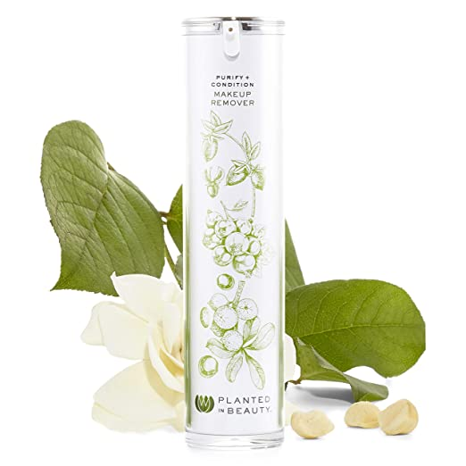 Organic Facial Cleansing Oil & Makeup Remover