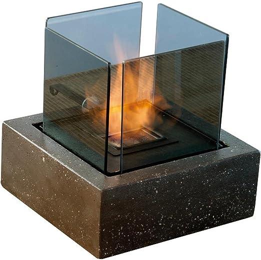 rubyfires etanol Fuego Chimenea de mesa mesa Chimenea Decoración ...