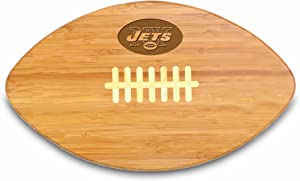 NFL New York Jets Touchdown Pro! Bamboo Cutting Board, 16-Inch