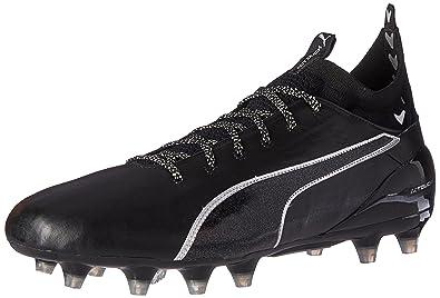 PUMA Men's Evotouch 2 FG Soccer Shoe, Puma Black-Puma Black-Puma Silver, 9 M US