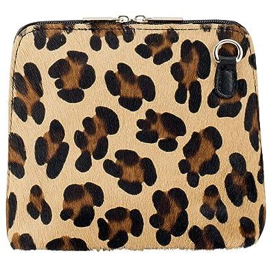 Rhiannon Leopard Print Italian Pony Skin and Leather Handbag  Amazon ... 153191c18a1b6