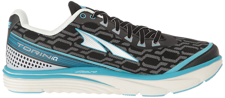Altra Women's Torin IQ Running Shoe B01HNJSPRU 6.5 B(M) US|Silver/Blue