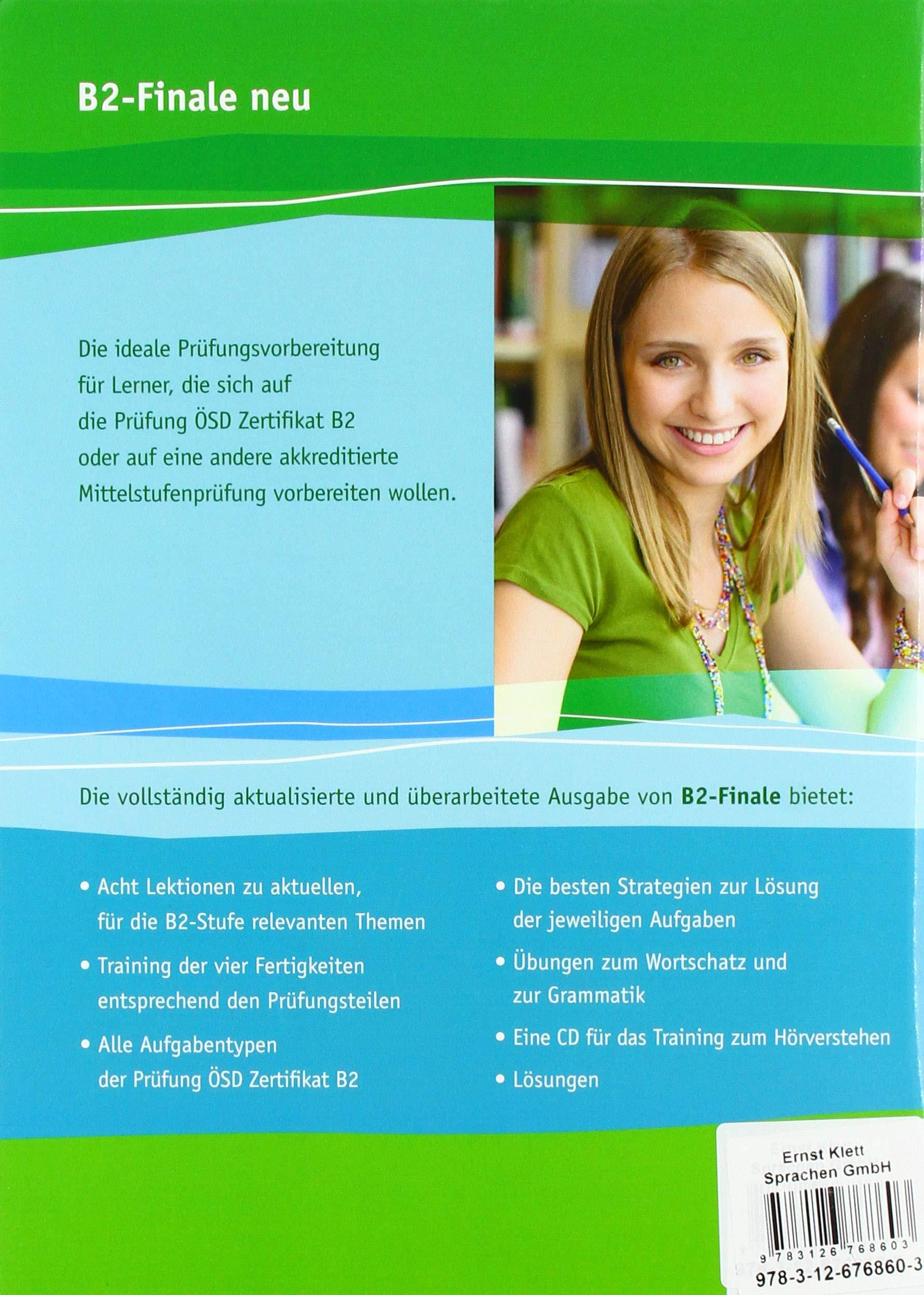 B2 Finale Neu übungsbuch Und Audio Cd Ein Vorbereitungskurs Auf