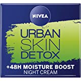 NIVEA Daily Essentials Urban Skin Detox Night Gel Cream, 50ml