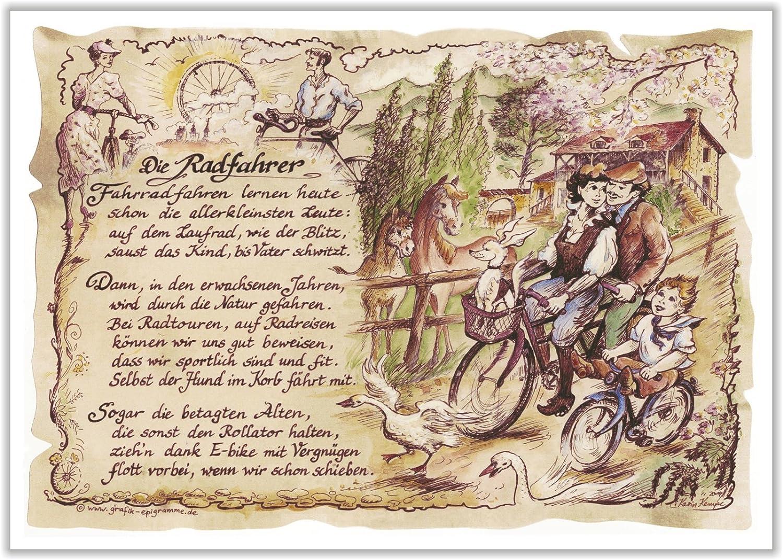 Geschenk Radfahrer Radsport Fahrrad Fahren Geschenk