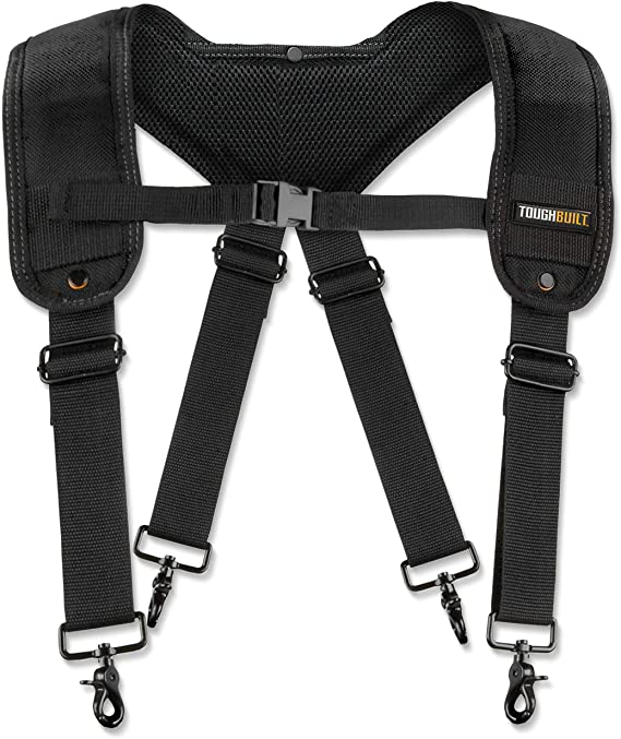 Tough Master TM-80612 Super Heavyweight Support Tool Belt Braces