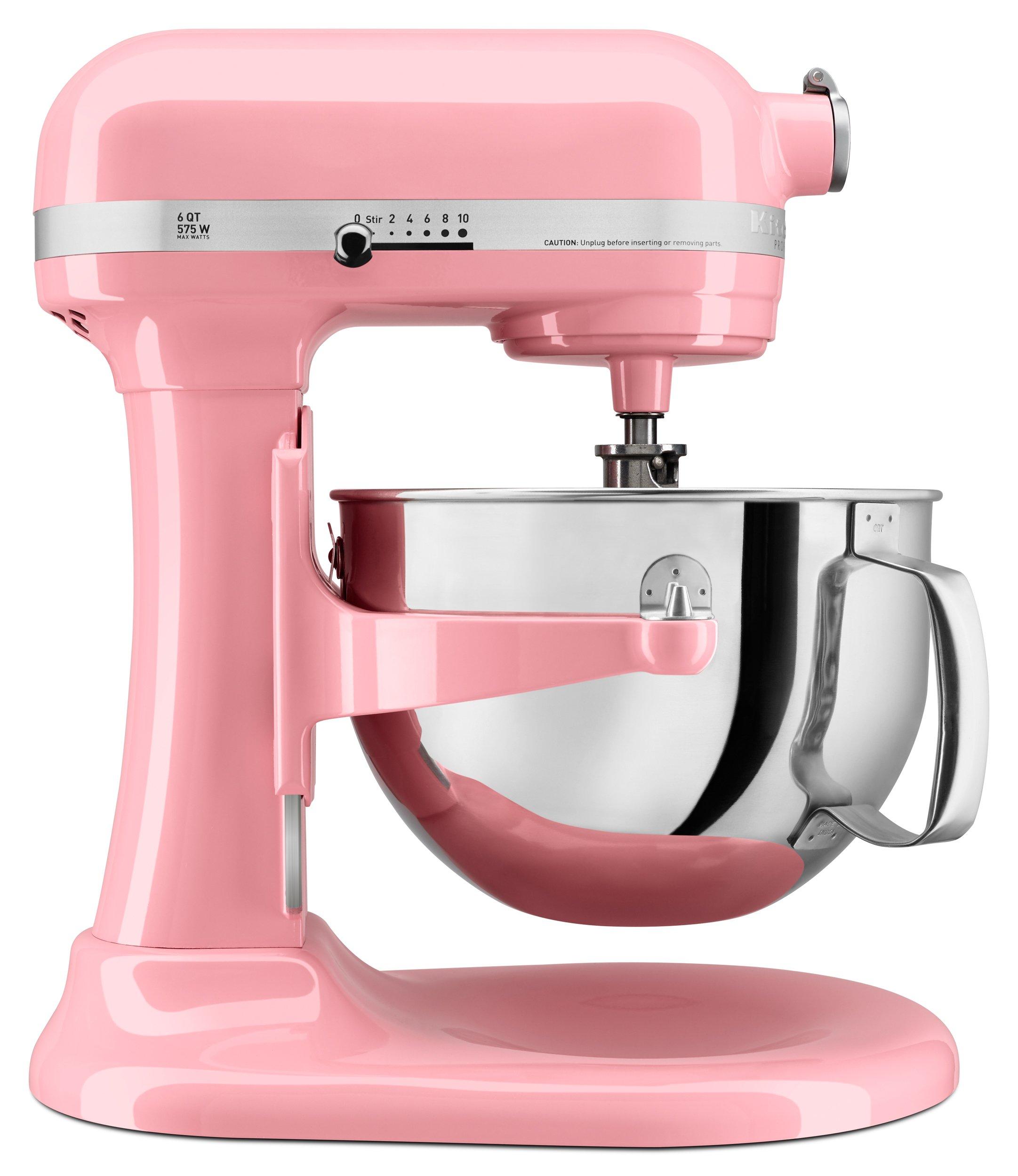 KitchenAid KP26M1XGU Professional 600 Series 6-Qt. Bowl-Lift Stand Mixer, Guava Glaze