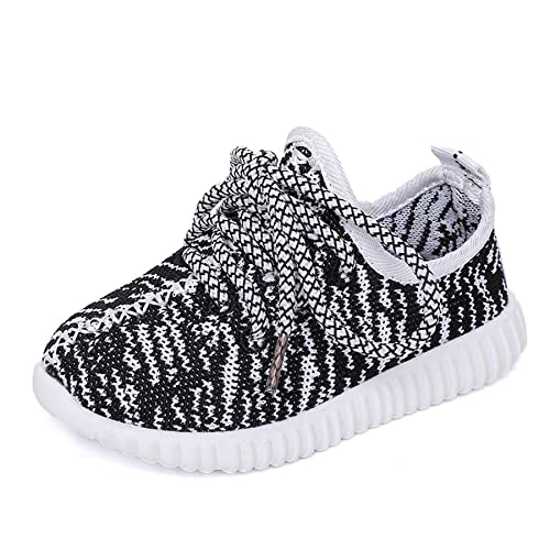 Nepretty Girls Breathable Running Shoes Boys Knit Lightweight Athletic  Walking Sneakers (5.5 M US Toddler da052101b4a3