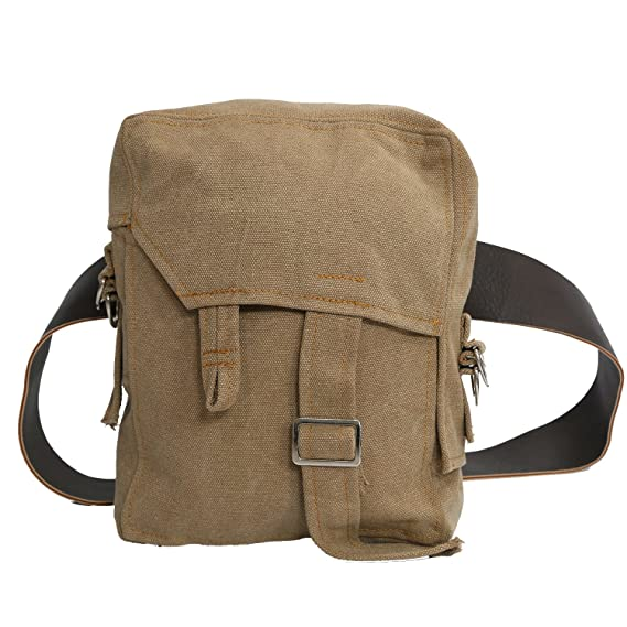 98413898bec5a9 Rey Bag with PU Belt Cosplay Costume Accessories Brown Canvas Waistbag Rey  Sidebag  Amazon.co.uk  Clothing