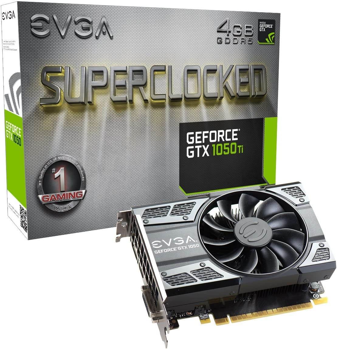 EVGA GTX 1050Ti Superclocked