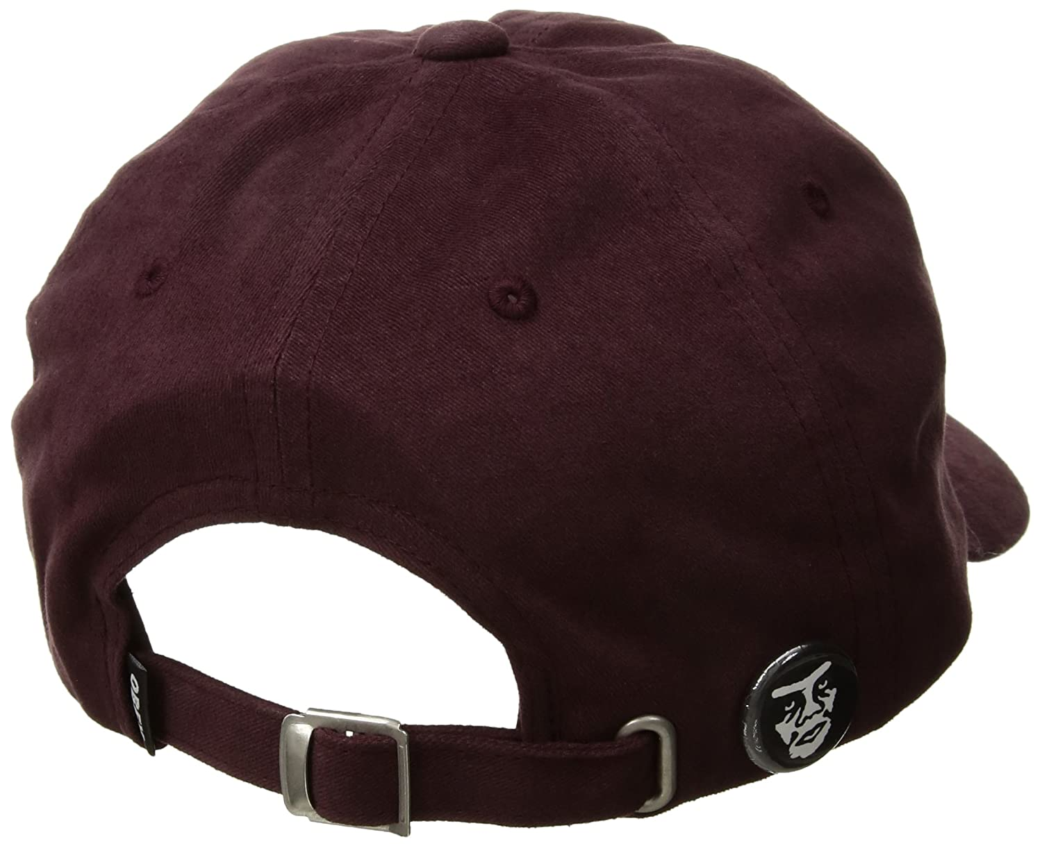 OBEY CAPPELLO JUMBLE BAR III 6 PANEL HAT EGG PLANT: Amazon.es ...