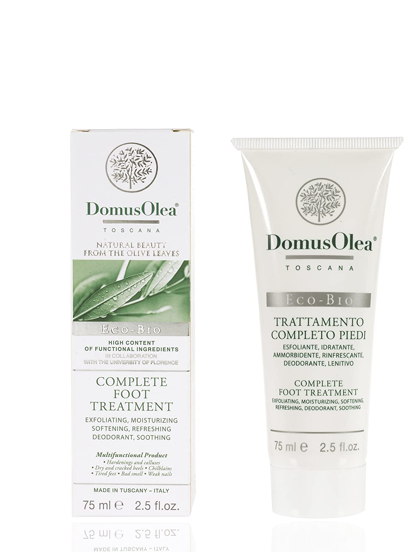 Domus Olea Toscana cosmeceutico organico completo di trattamento del piede 75 ml 010