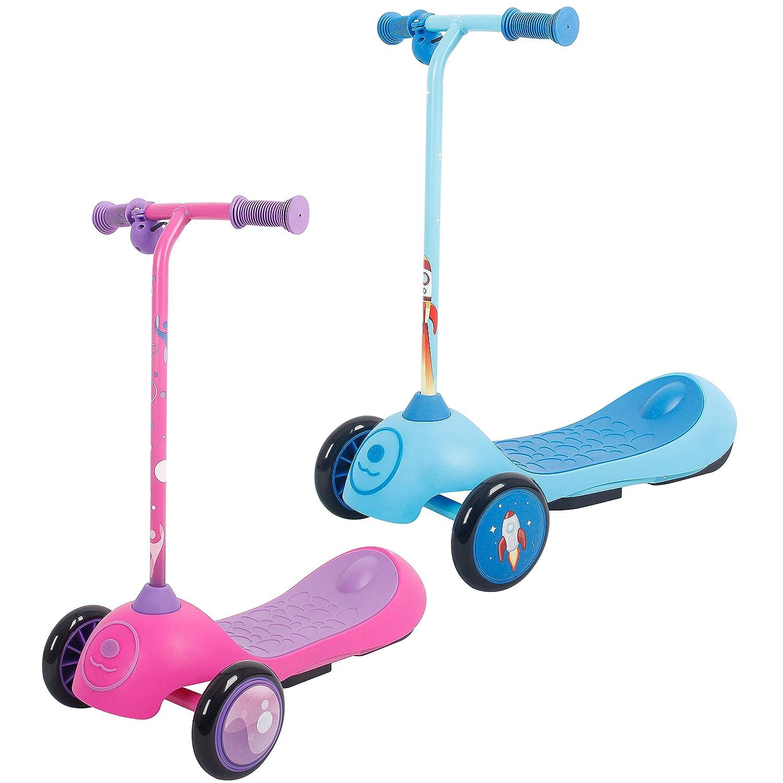 iScoot Patinete eléctrico E-Tron para niños y niñas, 3 ...