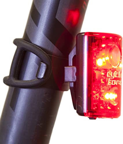 LED Safety Cycling Bike Taillight Rear Lamp MTB Road Bicycle Flashlight Torch