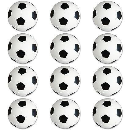 25b4d0b5991 Amazon.com: Soccer Sports Stress Balls Bulk Pack of 12 Relaxable 2 ...