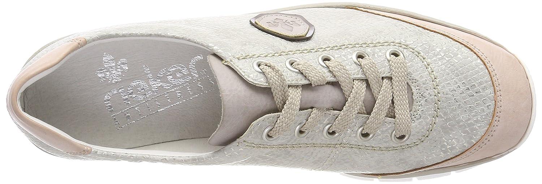 ccd242d93045 Rieker Damen 53724 Derbys  Amazon.de  Schuhe   Handtaschen
