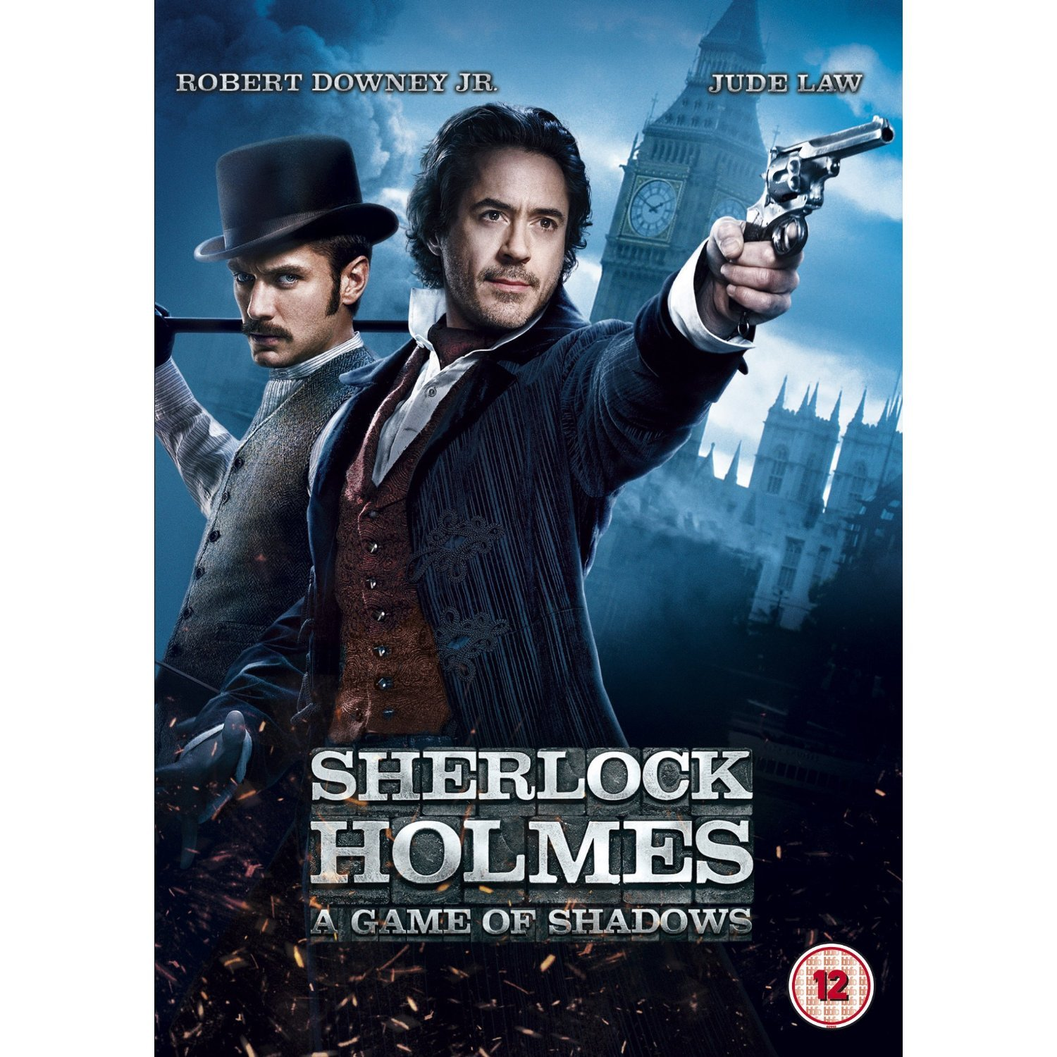 : Sherlock Holmes: A Game of Shadows [Region 2 DVD