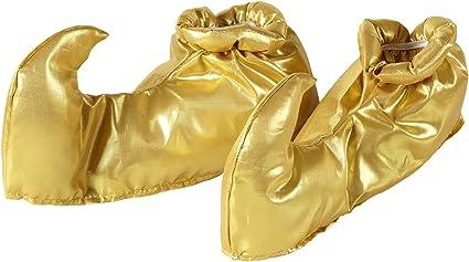 WIDMANN Copriscarpe Arabo Oro Scarpe, Calze e Leggins Party