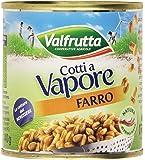 Valfrutta - Farro, Cotti a Vapore - 3 x 150 g, 450 g