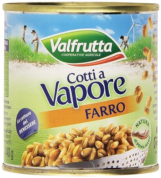 6 opinioni per Valfrutta- Farro, Cotti a Vapore- 3 x 150 g, 450 g