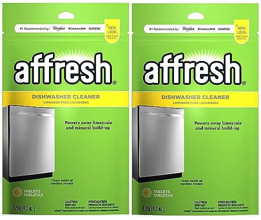 Affresh - Pastillas limpiadoras para lavavajillas limpiador ...