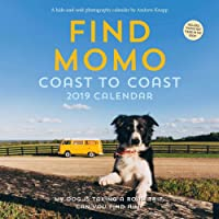 Find Momo 2019 Wall Calendar: Coast to Coast