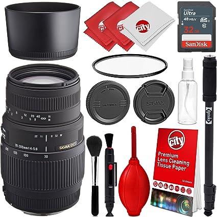 Sigma - Objetivo de Zoom para cámaras réflex Digitales Sony A ...