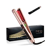 Deals on HTG Professional Hair Straightener 1 Inch Flat Irons