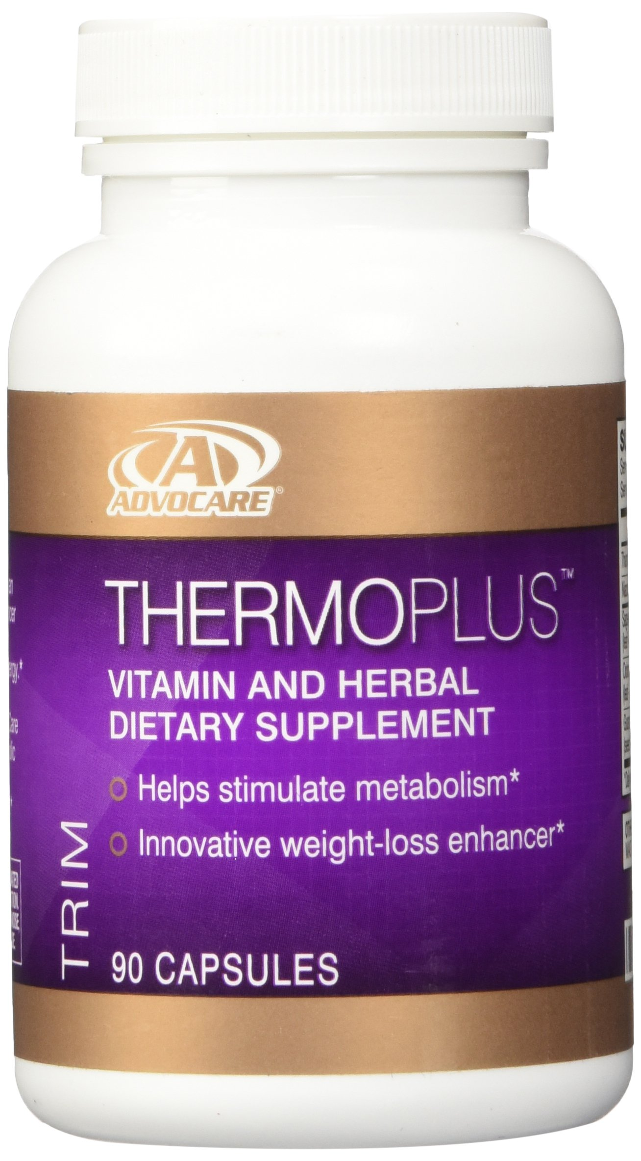 AdvoCare Thermoplus Vitamin and Herbal Dietary Supplement 90 Capsules by AdvoCare