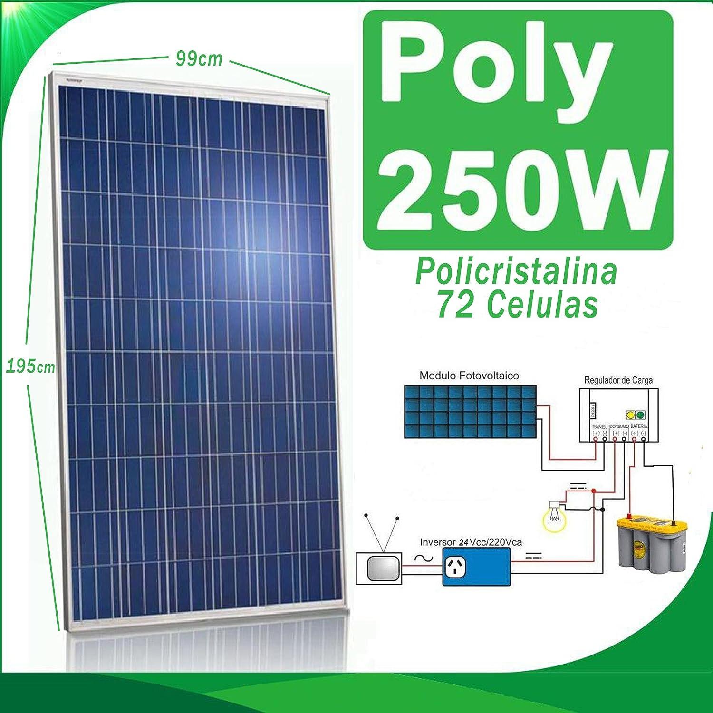 Solarmodul 250W Solarpanel Photovoltaik