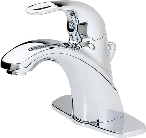 Pfister Parisa Single Control 4 Centerset Bathroom Faucet in Polished Chrome
