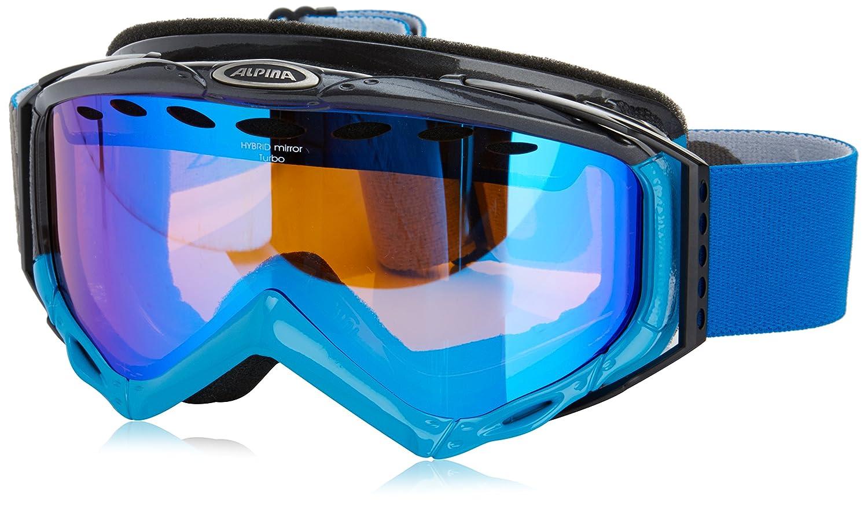 Alpina Skibrille Turbo HM - Gafas de esquí, color azul/gris, talla Talla única: Amazon.es: Deportes y aire libre